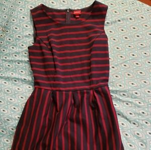 Red and navy striped dress ❤BOGO FREE❤